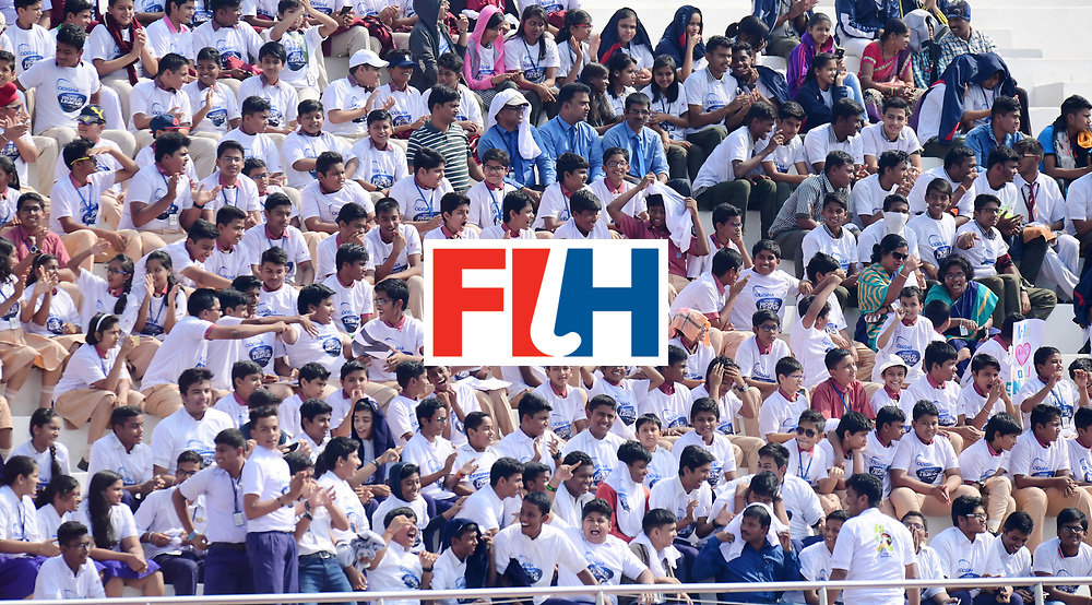 Odisha Men's Hockey World League Final Bhubaneswar 2017<br /> Match id:03<br /> Argentina v Belgium<br /> Foto: Fans<br /> WORLDSPORTPICS COPYRIGHT FRANK UIJLENBROEK