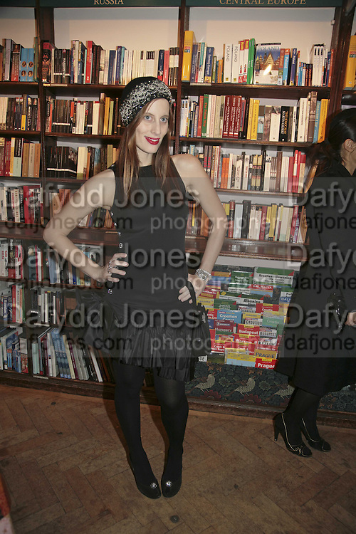 Liz Goldwyn, Book launch of Pretty Things by Liz Goldwyn at Daunt <br />