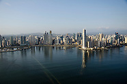 Vuelo sobre la ciudad de Panamá