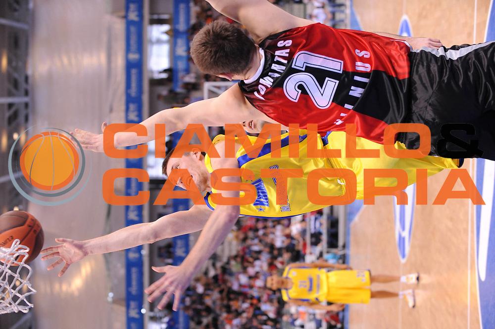 DESCRIZIONE : Torino Eurocup 2009 Finale Lietuvos Rytas BC Khimki<br /> GIOCATORE : Vitaly Fridzon<br /> SQUADRA : BC Khimki <br /> EVENTO : Eurocup 2009<br /> GARA : Lietuvos Rytas BC Khimki<br /> DATA : 05/04/2009<br /> CATEGORIA : tiro<br /> SPORT : Pallacanestro<br /> AUTORE : Agenzia Ciamillo-Castoria/M.Ciamillo