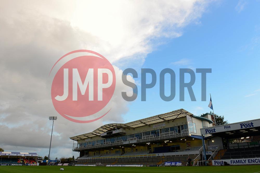 before Bristol Rovers play Wycombe Wanderers in the Johnstone Paint Trophy - Mandatory byline: Dougie Allward/JMP - 07966 386802 - 06/10/2015 - FOOTBALL - Memorial Stadium - Bristol, England - Bristol Rovers v Wycombe Wanderers - JPT Trophy