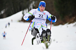 TOMANEK Jan, CZE at the 2014 IPC Nordic Skiing World Cup Finals - Long Distance