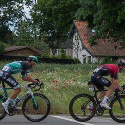 08-06-2019: Wielrennen: Hammer Series Sprint: Sittard<br /> Maciej Bodnar, Owain Doull