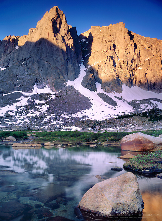 Cirque of the Towers Popo Agie Wilderness Wind River Range Wyoming USA