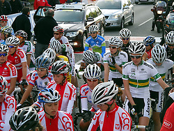 Urska Kalan of Slovenia during the Women´s Junior Road Race on day five of the UCI Road World Championships on September 23, 2011 in Copenhagen, Denmark. (Photo by Marjan Kelner / Sportida Photo Agency)