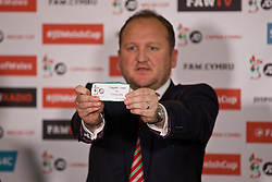 CARDIFF, WALES - Monday, October 3, 2016: The draw for the 2nd Round of the Welsh Cup at the Vale Resort. (Pic by David Rawcliffe/Propaganda)