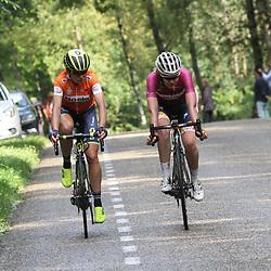 02-09-2017: Wielrennen: Boels Ladies Tour: Vaals: Anna van der Breggen: Annemiek van Vleuten