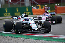 May 13, 2018 - Barcelona, Spain - Lance Stroll, team Williams, during the GP Spain F1, on 13th May 2018 in Barcelona, Spain. (Credit Image: © Joan Valls/NurPhoto via ZUMA Press)