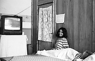 Ramona at 14, in the orphanage of Popricani, Molodovia, North-East of Romania, in 2000