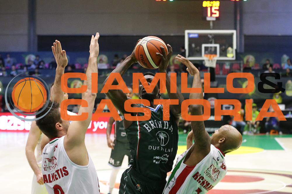 Durand Scott<br /> EA7 Emporio Armani Milano - Cantine Due Palme Brindisi<br /> Poste Mobile Final Eight F8 2017 <br /> Lega Basket 2016/2017<br /> Rimini, 16/02/2017<br /> Foto Ciamillo-Castoria / M. Brondi