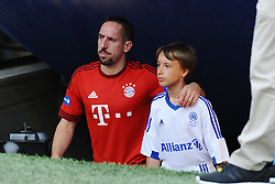 11.07.2015, Allianz Arena, M&uuml;nchen, GER, 1. FBL, FC Bayern Muenchen, Teampr&auml;sentation, im Bild Franck Ribery (FC Bayern Muenchen) bei der Allianz FC Bayern Team Presentation in der Allianz-Arena Muenchen, 11.07.2015, Foto: Stuetzle/ Eibner-Pressefoto // during the Teampresentation at the Allianz Arena in M&uuml;nchen, Germany on 2015/07/11. EXPA Pictures &copy; 2015, PhotoCredit: EXPA/ Eibner-Pressefoto/ Stuetzle<br /> <br /> *****ATTENTION - OUT of GER*****