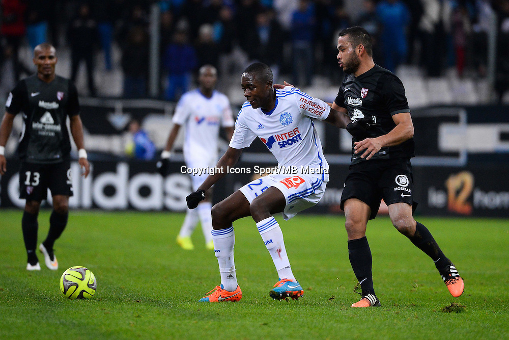 Giannelli IMBULA / FALCON - 07.12.2014 - Marseille / Metz - 17eme journee de Ligue 1 -<br />
