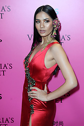 Chalita Suansane attending the Pink Carpet prior to the Victoria's Secret Fashion Show at the Mercedes-Benz Arena Shanghai in Shanghai, China.