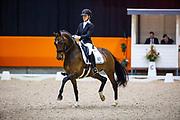 Ann Wessels - Ginn<br /> KNHS Indoorkampioenschappen 2020<br /> © DigiShots