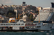Turkey. Istambul. cruise boats in the port