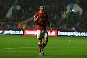 Marlon Pack (21) of Bristol City during the EFL Sky Bet Championship match between Bristol City and Bolton Wanderers at Ashton Gate, Bristol, England on 26 September 2017. Photo by Graham Hunt.