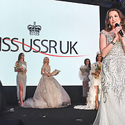 CEO Julia Titova annonce the 1st Miss USSR UK 2019 of the Grand Final MISS USSR UK 2019 at Hilton Hotel Park Lane on 27 April 2019, London, UK.
