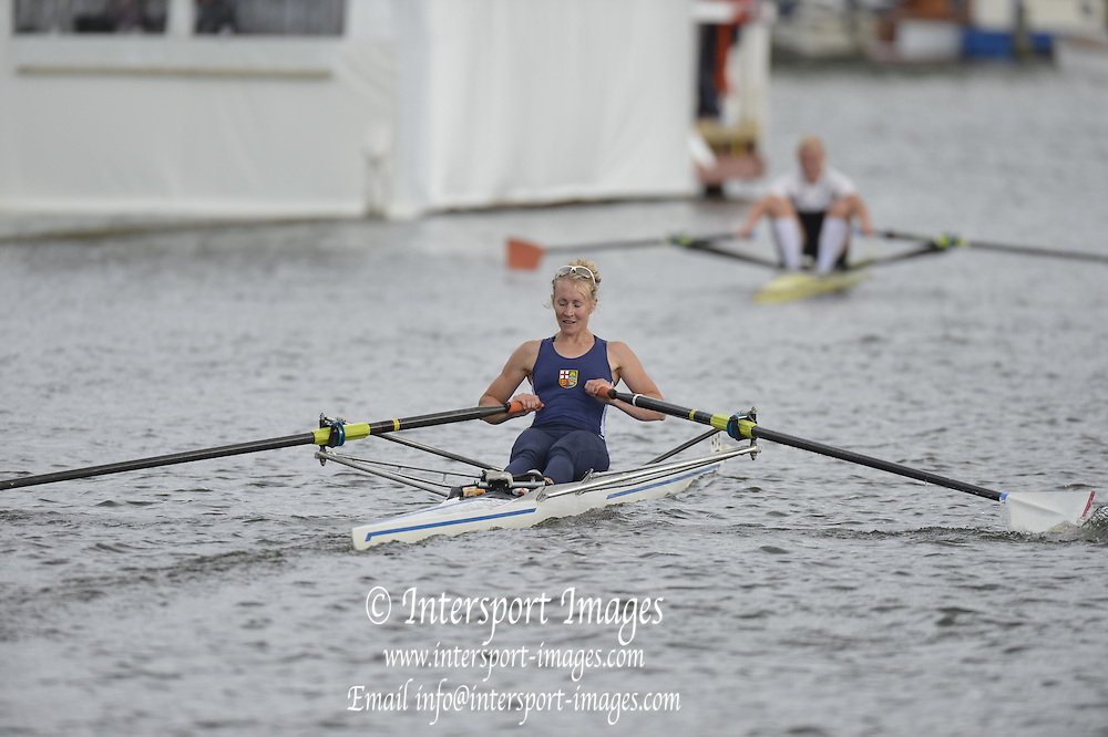Henley, GREAT BRITAIN.  Princess Royal Challenge Cup .  Imogen WALSH. GBR LW1X, during their Friday heat.  2012 Henley Royal Regatta. ..Friday  19:19:59  29/06/2012. [Mandatory Credit, Peter Spurrier/Intersport-images]...Rowing Courses, Henley Reach, Henley, ENGLAND . HRR.