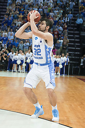 in the first half. <br /> <br /> The University of Kentucky hosted the University of North Carolina in a 2017 NCAA D1 Men's South Regional Championship, Sunday, March 26, 2017 at FedExForum in Memphis.