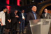 JULIANO SALGADO; LEILA SALGADO; EX PRESIDENT LULA DA SILVA OF BRAZIL; SEBASTIAO SALGADO, Opening of Sebastião Salgado: Genesis | Natural History Museum, Cromwell Rd. London. 9 April 2013
