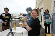 Ciara Murray, Newbridge, pulls her own pint  at the Budweiser Ice Cold Summer BBQ, broadcast live on the Tony Fenton Show at The Galway Bay Hotel in Salthill. Photo:Andrew Downes.. .Both Duke Special and The Divine Comedy performed at the summer kick-off party and Today FM's Tony Fenton Show broadcast live from the hotel all afternoon...The 150 invited guests included Today FM listeners ad Budweiser Ice Cold Facebook fans from all over the country. Guests also won the chance to win a cool Grand in cash, meet Mr. Iceman and of course enjoy a pint of Budweiser Ice Cold, the coldest pint ever!..Enjoy Budweiser Ice Cold sensibly visit www.drinkaware.ie ..This event was strictly over 18's,..-ENDS-..FOR FURTHER INFORMATION PLEASE CONTACT:.Killian Burns / Aoiffe Madden..Killian.burns@ogilvy.com / aoiffe.madden@ogilvy.com.WHPR..Tel: 01 6690030.
