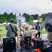 The band Rhythm Method performs at Strawbery Banke's vintage & Vine Festival