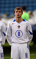 Fotball, 28. april 2004, Privatlandskamp, Norge-Russland 3-2, Dmitri Sychev, Russland, portrett