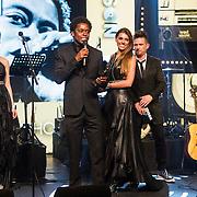 NLD/Amsterdam/20150202 - Edison Awards 2015, Typhoon ontvangt een Award