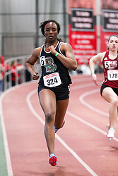 womens 200 meters, heat 12, Brown, Sydney Scott<br /> BU John Terrier Classic <br /> Indoor Track & Field Meet
