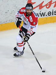 07.02.2015, Albert Schultz Eishalle, Wien, AUT, IIHF, Euro Ice Hockey Challenge, Oesterreich vs Slovakei, im Bild Nikolas Petrik (Oesterreich, AUT) // during the IIHF Euro Ice Hockey Challenge match between Austria and Slovakia at the Albert Schultz Ice Arena, Vienna, Austria on 2015/02/07. EXPA Pictures © 2015, PhotoCredit: EXPA/ Thomas Haumer
