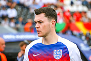 England defender Michael Keane (Everton) during the UEFA Nations League 3rd place play-off match between Switzerland and England at Estadio D. Afonso Henriques, Guimaraes, Portugal on 9 June 2019.