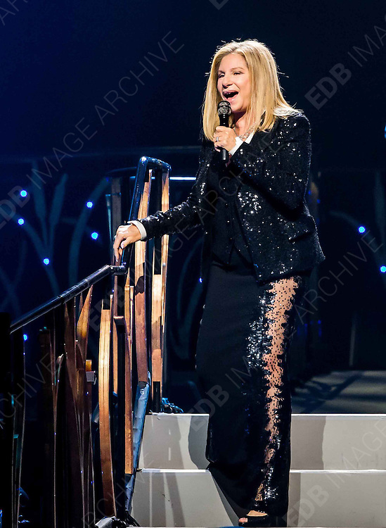 02.NOVEMBER.2012. LAS VEGAS<br /> <br /> BARBRA STREISAND PERFORMS AT MGM GRAND GARDEN ARENA ON NOVEMBER 2, 2012 IN LAS VEGAS, NEVADA.  <br /> <br /> BYLINE: EDBIMAGEARCHIVE.CO.UK<br /> <br /> *THIS IMAGE IS STRICTLY FOR UK NEWSPAPERS AND MAGAZINES ONLY*<br /> *FOR WORLD WIDE SALES AND WEB USE PLEASE CONTACT EDBIMAGEARCHIVE - 0208 954 5968*