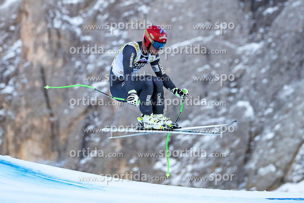 16.12.2016, Saslong, St. Christina, ITA, FIS Ski Weltcup, Groeden, Super G, Herren, im Bild Blaise Giezendanner (FRA) // Blaise Giezendanner of France in action during men's SuperG of FIS Ski Alpine World Cup at the Saslong race course in St. Christina, Italy on 2016/12/16. EXPA Pictures © 2016, PhotoCredit: EXPA/ Johann Groder