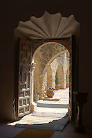 Doorway detail at Mission San Jose, San Antonio, TX