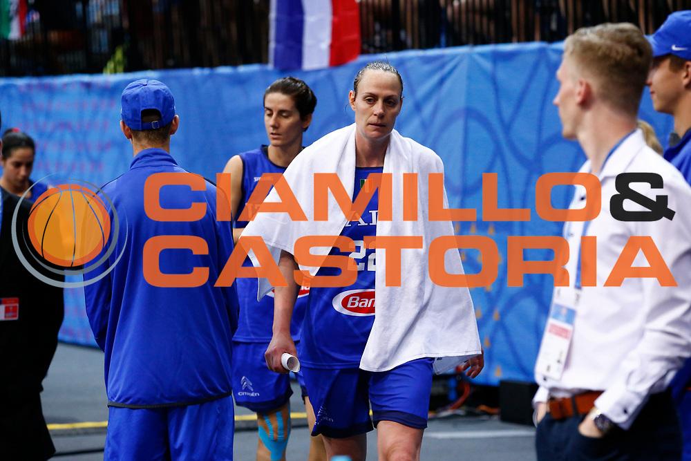 Kathrin Ress<br /> Italia - Belgio<br /> Nazionale Femminile Senior - EUROBASKET 2017 - Quarti di Finale<br /> O2 Arena, Praga, 22/06/2017<br /> Foto Ciamillo-Castoria / M.Brondi