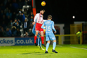 Stevenage's defender Ron Henry during the EFL Sky Bet League 2 match between Stevenage and Coventry City at the Lamex Stadium, Stevenage, England on 21 November 2017. Photo by Matt Bristow.