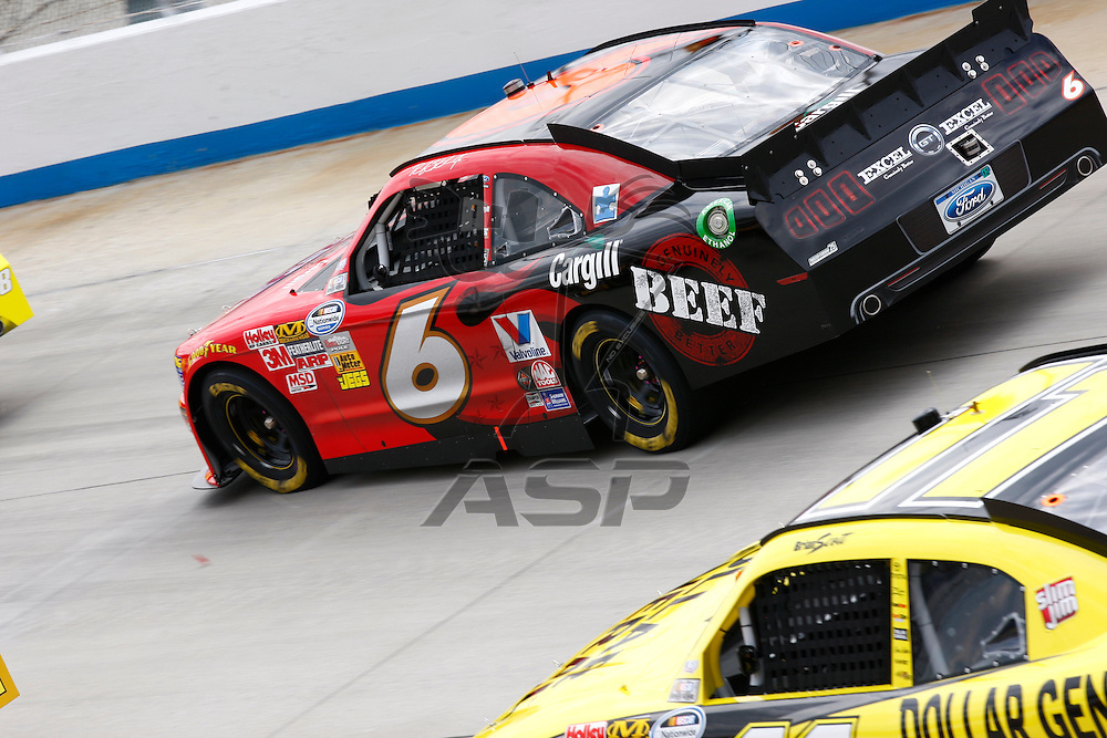 DOVER, DE - JUN 02, 2012:  The NASCAR Nationwide Series teams take to the track for the 5-hour ENERGY 200 at the Dover International Speedway in Dover, DE.