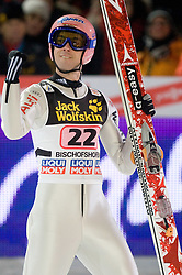 Michael Neumayer (GER) competes during Second round of the FIS Ski Jumping World Cup event of the 58th Four Hills ski jumping tournament, on January 6, 2010 in Bischofshofen, Austria. (Photo by Vid Ponikvar / Sportida)