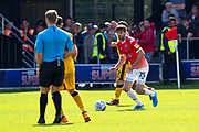 Salford City midfielder Joe Jones in action during the EFL Sky Bet League 2 match between Salford City and Port Vale at Moor Lane, Salford, United Kingdom on 17 August 2019.