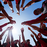 19 March 2017: The San Diego State Aztecs softball team closed out a weekend series against Fresno with a 6-3 win.<br /> www.sdsuaztecphotos.com