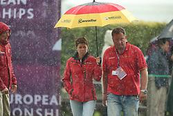 Theodorescu, Monica (GER);<br /> Koene, Dr. Marc (GER), <br /> Aachen - Europameisterschaften 2015<br /> Grand Prix Special<br /> © www.sportfotos-lafrentz.de/Stefan Lafrentz