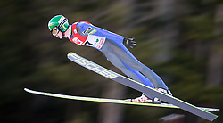 19.12.2014, Nordische Arena, Ramsau, AUT, FIS Nordische Kombination Weltcup, Skisprung, PCR, im Bild Ilkka Herola (FIN) // during Ski Jumping of FIS Nordic Combined World Cup, at the Nordic Arena in Ramsau, Austria on 2014/12/19. EXPA Pictures © 2014, EXPA/ JFK
