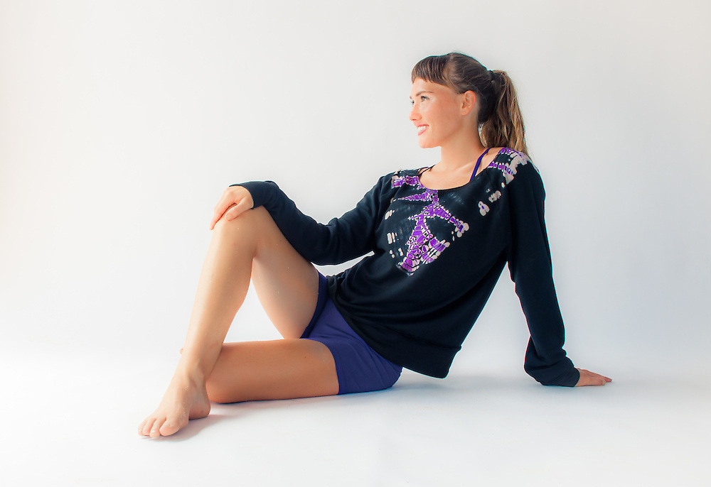 Lily Lotus Yoga Sweater<br /> In Viana Julia Photography Daylight Studios