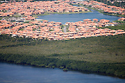 Development edges wetlands in Cutler Bay, a municipality of Miami.