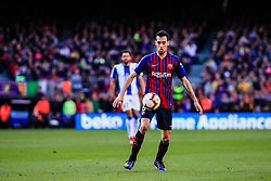 March 30, 2019 - Barcelona, BARCELONA, Spain - 05 Sergio Busquets of FC Barcelona during the ''Derby'' of La Liga match between FC Barcelona and RCD Espanyol in Camp Nou Stadium in Barcelona 30 of March of 2019, Spain. (Credit Image: © AFP7 via ZUMA Wire)