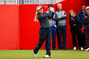 Bronte Law during the Ricoh Women's British Open at Royal Lytham and St Annes Golf Club, Lytham Saint Annes, United Kingdom on 2 August 2018. Picture by Simon Davies.