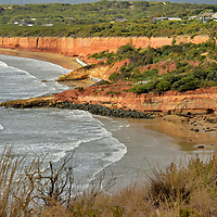 Point Roadknight near Anglesea on Great Ocean Road, Australia<br />