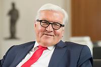 27 JUL 2016, BERLIN/GERMANY:<br /> Frank-Walter Steinmeier, SPD, Bundesaussenminister, waehrend einem Interview, in seinem Buero, Auswaertiges Amt<br /> IMAGE: 20160727-01-030<br /> KEYWORDS: Büro, freundlich