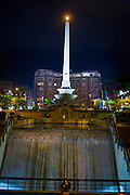 Caracas_VEN, Venezuela...Obelisco Plaza Altamira no centro de Caracas, Venezuela...Plaza Altamira Obelisk at Caracas Downtown, Venezuela...Foto: JOAO MARCOS ROSA / NITRO