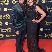 NLD/Amsterdam/20181011 - Televizier Gala 2018, Ron Boszhard en partner Emilie Rozenga
